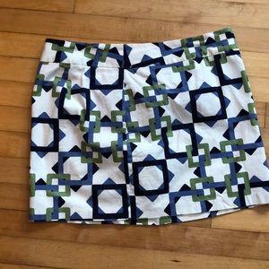 Old Navy Patterned Mini skirt size 12